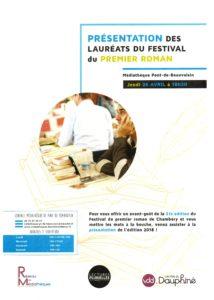 Festival premier roman de Chambery